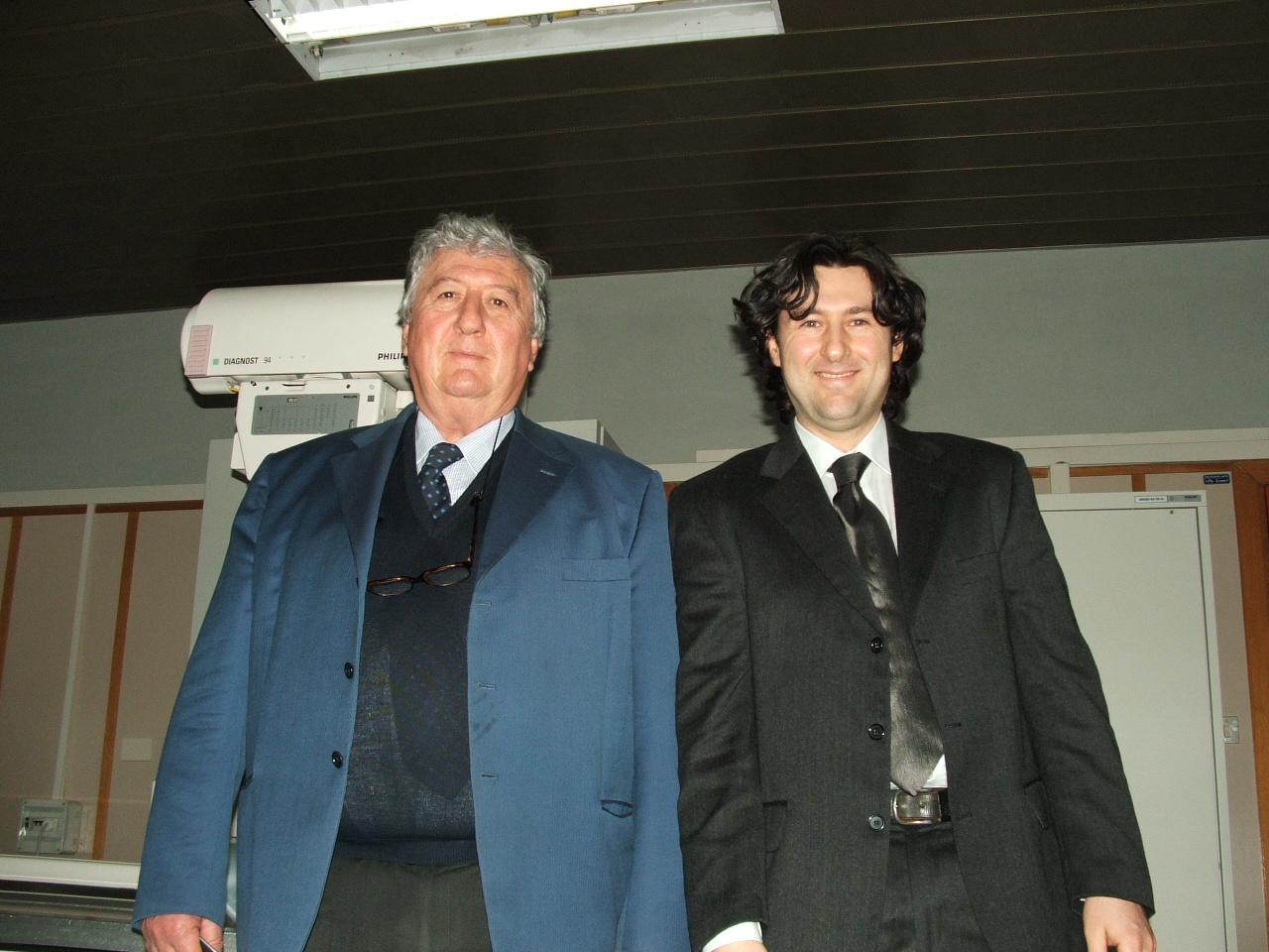Ing Silvano Cazzoli e Dott Saverio Cazzoli