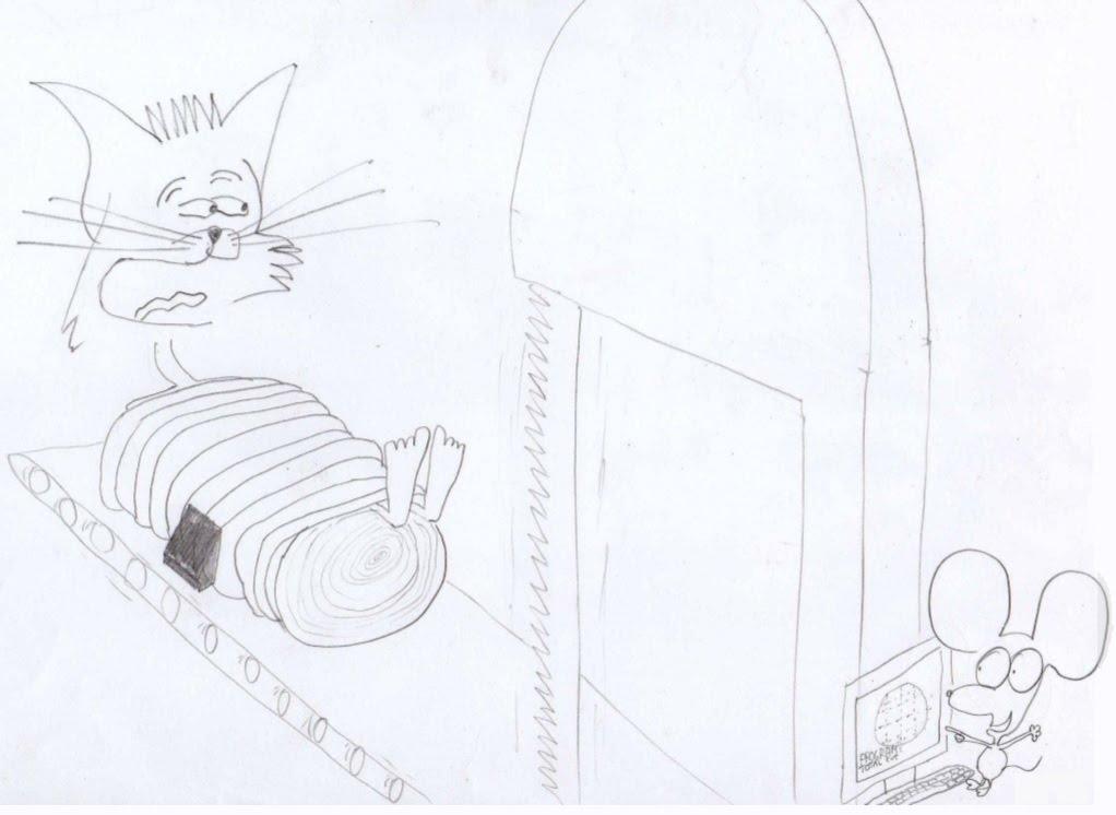 Jerry in segheria