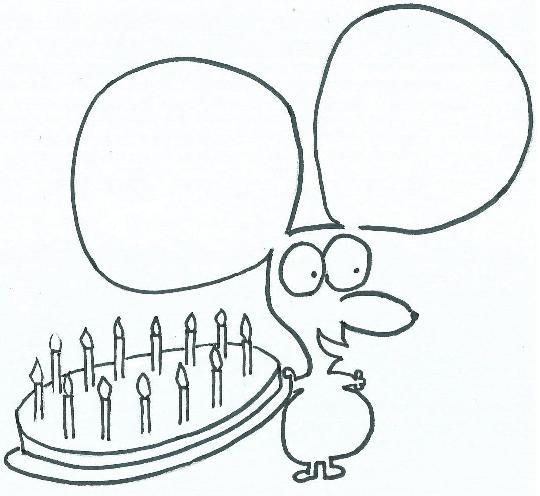Jerry Pongazza mostra una torta